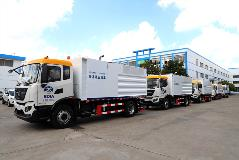Beijing Daxing International Airport Selects Allison Transmission-equipped Deicing Fluid Recovery Truck