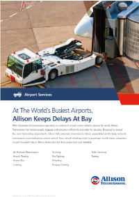 Airport Services Flyer