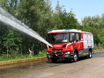 In the fall of 2019, the fire departments of the U.S. Army in Germany started operating eight new Scania fire trucks