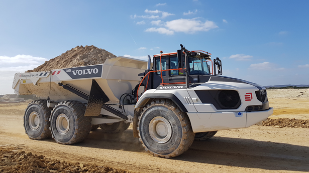 Eiffage chooses Volvo dump trucks equipped with Allison transmissions